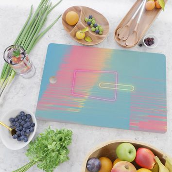 Cool Summer Cutting Board by duckyb