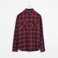 PRINTED FLANNEL SHIRT