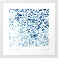 Poolside Art Print by Laura O'Connor