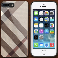 Best Burberry.14 Smoked Check Case For iPhone 6 6+ 6s 6s+ 7 7+ 8 8+ Cover