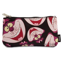 Licensed cool Cheshire Cat Alice Wonderland Pouch Cosmetic Bag Purse Loungefly Disney Store