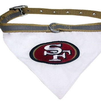San Francisco 49ers Bandana Medium