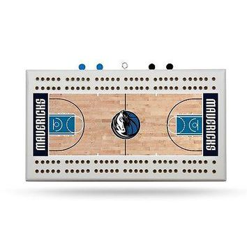 Dallas Mavericks NBA Licensed 2 Track Cribbage Board