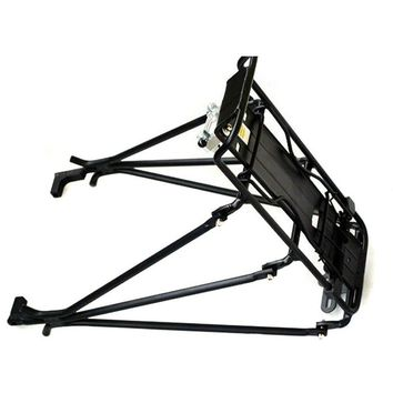 Good deal Cycling MTB Aluminum Alloy Bicycle Carrier Rear Luggage Rack Shelf Bracket for Disc Brake/V-brake Bike Black
