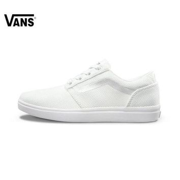 ONETOW Vans Atwood Low Women's Black Canvas Skate Shoes