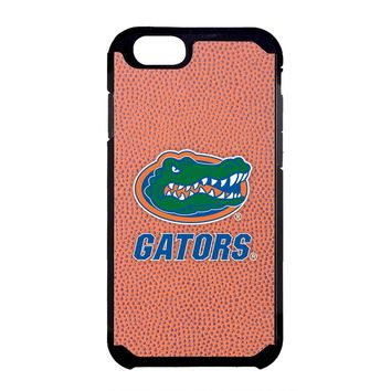 NCAA Florida Gators Classic Football Pebble Grain Feel iPhone 6 Case, One Size, Brown