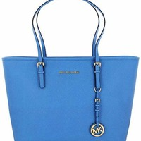 Michael Kors Jet Set Travel TZ Tote Women's Leather Handbag