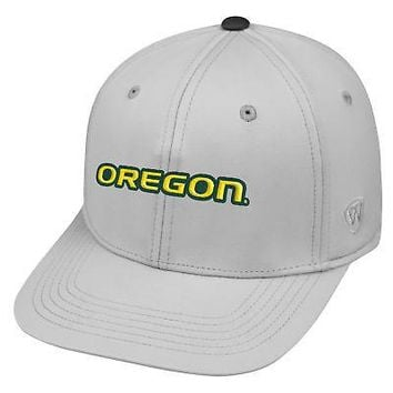 huge selection of 9fe44 26c38 Licensed Oregon Ducks Official NCAA Adjustable Impact Hat by Top of the  World 057989 KO 19 1