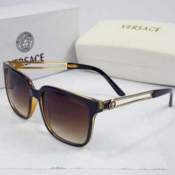 Versace Men Women Casual Popular Summer Sun Shades Eyeglasses Glasses Sunglasses