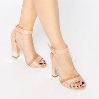 Paper Dolls Block Heeled Sandals