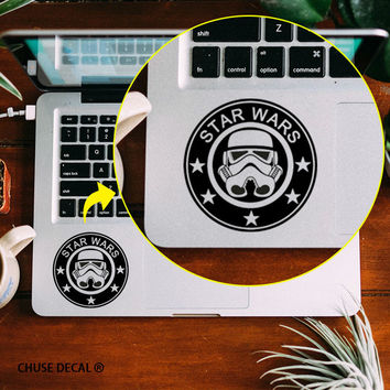 "Star Wars Starbuck Design Touchpad Decal Laptop Art Skin Trackpad Sticker for 11"" 12"" 13"" 15 "" Apple Macbook Air / Pro / Retina"