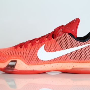 BC QIYIF Nike Kobe X Majors University Red Bright Crimson 705317-616