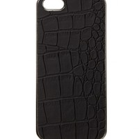 A MOCK CROC PHONE CASE