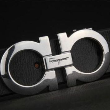 DCCKHI2 FERRAGAMO CLASSIC MENS BELT WOMENS REAL LEATHER BELTS