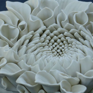 Dahlia Flower Wall Tile 2