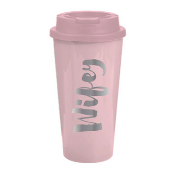 "SLANT COLLECTIONS ""WIFEY"" 16OZ TRAVEL TUMBLER"