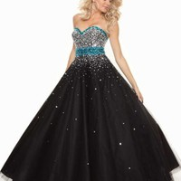 Mori Lee Dress 93019 at Peaches Boutique