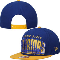 Golden State Warriors New Era Double Mix 9FIFTY Adjustable Snapback Hat – Royal Blue