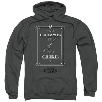 Fantastic Beasts - Curse It Adult Pull Over Hoodie Officially Licensed Apparel