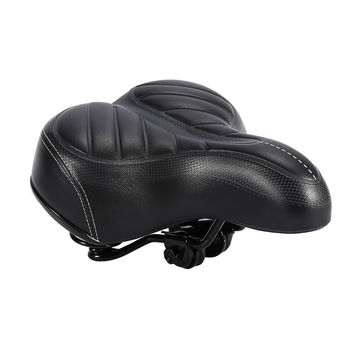 Oversized Comfort Bike Seat Comfortable Replacement Bicycle Saddle For Women and Men - Universal Fit