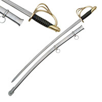 Cavalry Sword with Black Handle