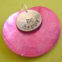 Be Happy Pendant | Spiffing Jewelry