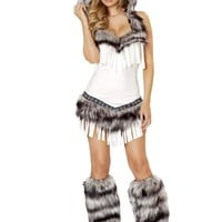 Roma Costume 4474 1Pc Indian Seductress Costume