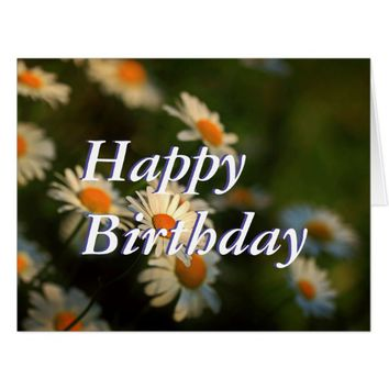 Daisy Day Design - Happy Birthday Card