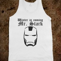 Winter is coming IRON MAN 3