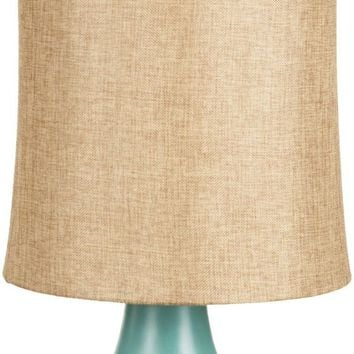 Lamp Global Table Lamp Aged Turquoise Gold