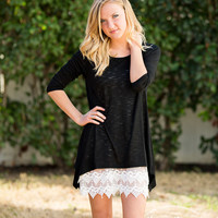 Lace Layering Cami Tunic - New Color!