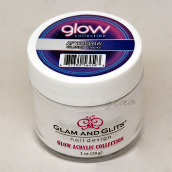 Glam and Glits GLOW ACRYLIC Glow in the Dark Nail Powder 2028 Afterglow