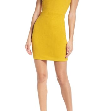 BB Dakota Sleeveless Jacquard Sheath Dress | Nordstrom