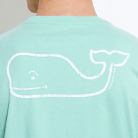 Men's T-Shirts: Vintage Whale Long Sleeve Pocket T-Shirt – Vineyard Vines