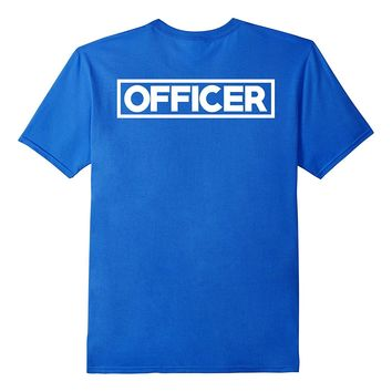 Police Officer T-Shirt for LEO Off Duty Cops Law Enforcement