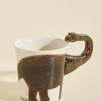 Making Prehistory Mug in Brontosaurus | Mod Retro Vintage Kitchen | ModCloth.com