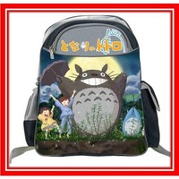Totoro and Friends Full Size School Backpack approx 15""