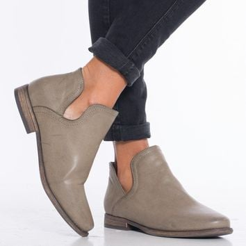 Cut Out Bootie
