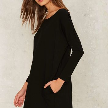 Nasty Gal Bases Covered Shift Dress