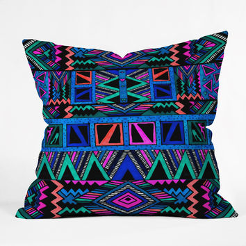 Kris Tate Katok Outdoor Throw Pillow