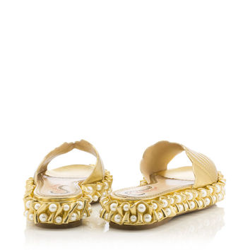 Venus in Gold - Flats | Charlotte Olympia
