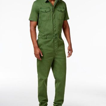 DCCK8BW GUESS MENS CARTER TWILL JUMPSUIT