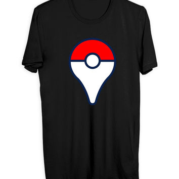 Pokemon Go Pin logo Mens T Shirt