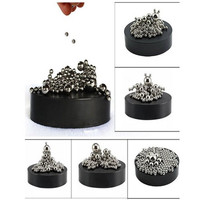 ZMI Magnetic Sculpture Desk Toy with Stainless Steel Ball Stress Relief Offic...