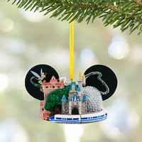 Walt Disney World Ear Hat Ornament with Tinker Bell