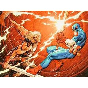 Ultimate New Ultimates #4 - Limited Edition Giclee on Canvas by Frank Cho and Marvel Comics