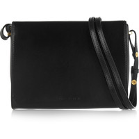 Marni - Book leather shoulder bag
