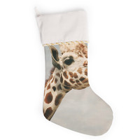 "Angie Turner ""Giraffe"" Animal Christmas Stocking"