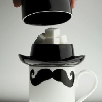 Bowler Hat Sugar/Biscuit Bowl from Found Home Store Ltd | Made By Found Home Store  | 15.00 | Bouf