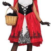 Red Riding Hood Adult Large Women's Costume